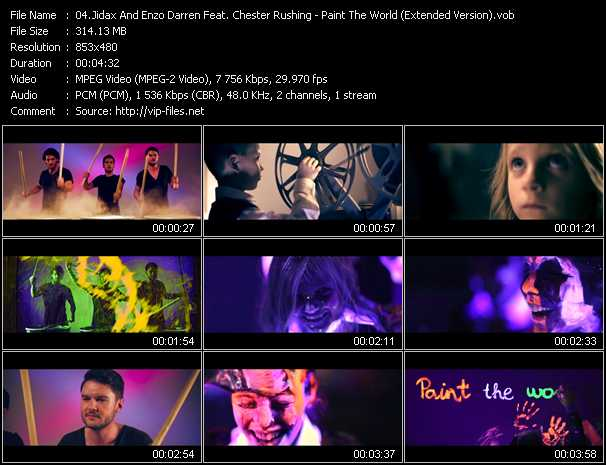 Jidax And Enzo Darren Feat. Chester Rushing - Paint The World (Extended Version)