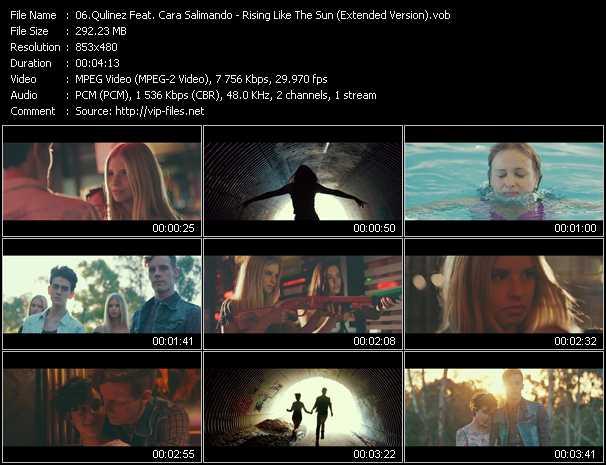 Qulinez Feat. Cara Salimando - Rising Like The Sun (Extended Version)