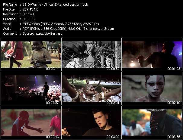 D-Wayne - Africa (Extended Version)