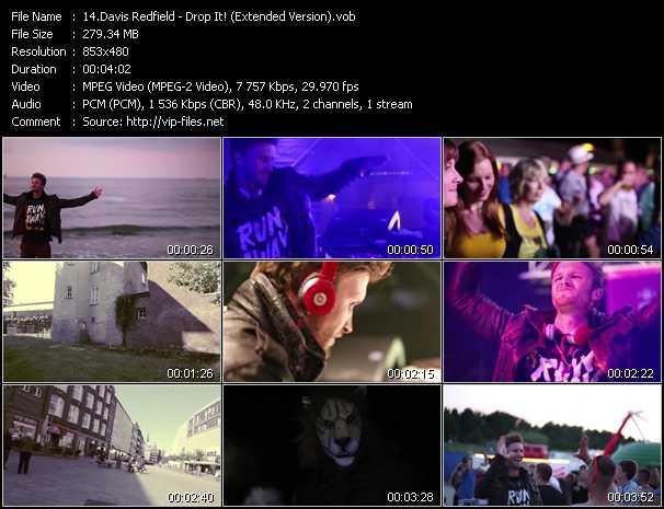 Davis Redfield - Drop It! (Extended Version)