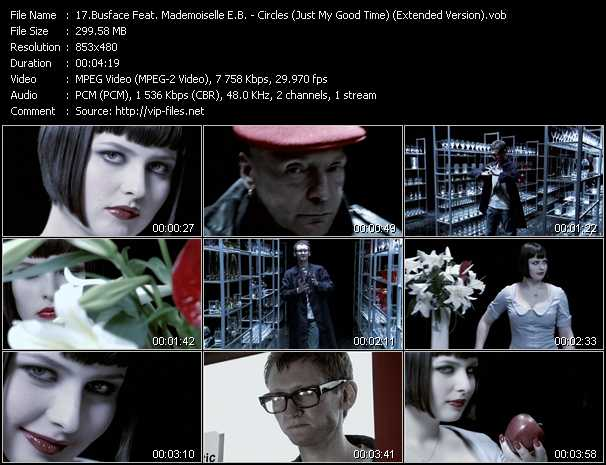 Busface Feat. Mademoiselle E.B. - Circles (Just My Good Time) (Extended Version)