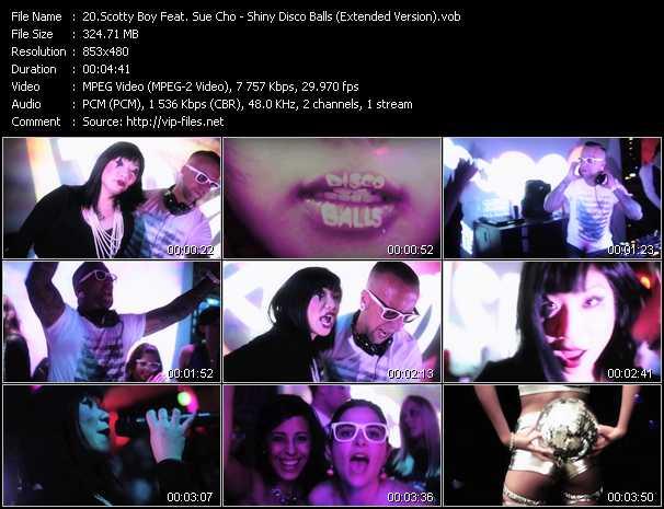 Scotty Boy Feat. Sue Cho - Shiny Disco Balls (Extended Version)