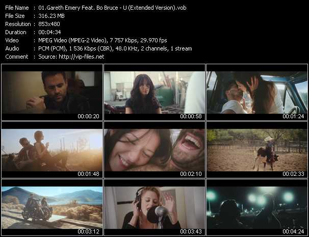 Gareth Emery Feat. Bo Bruce - U (Extended Version)