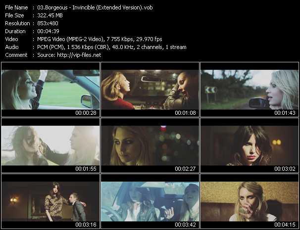 Borgeous - Invincible (Extended Version)