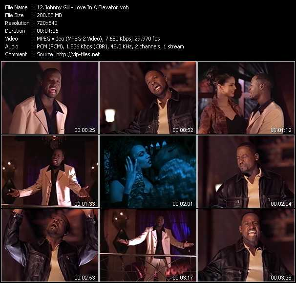 Johnny Gill - Love In A Elevator