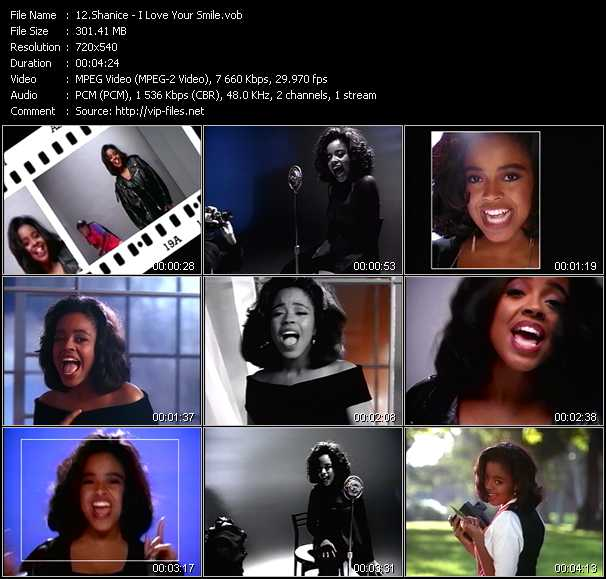 Shanice (Shanice Wilson) - I Love Your Smile