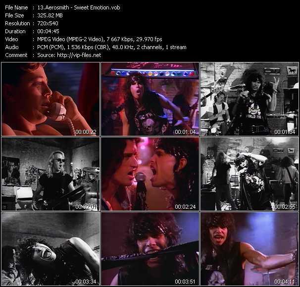 Aerosmith - Sweet Emotion
