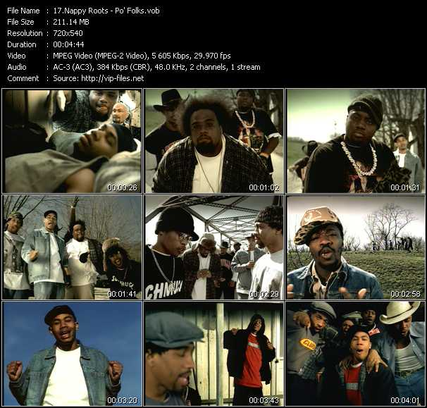 Nappy Roots - Po' Folks