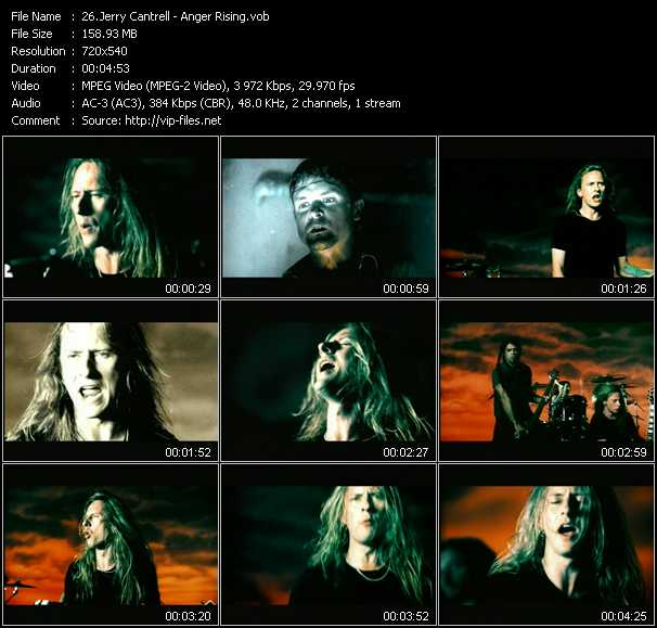 Jerry Cantrell - Anger Rising