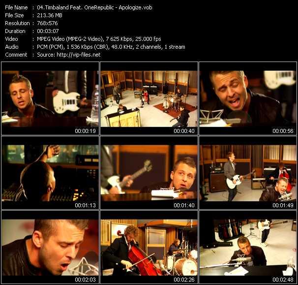 Timbaland Feat. OneRepublic - Apologize