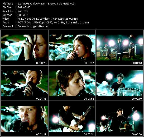Angels And Airwaves - Everything's Magic