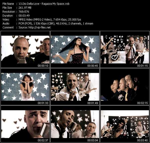 Dio Della Love - Ragazza My Space