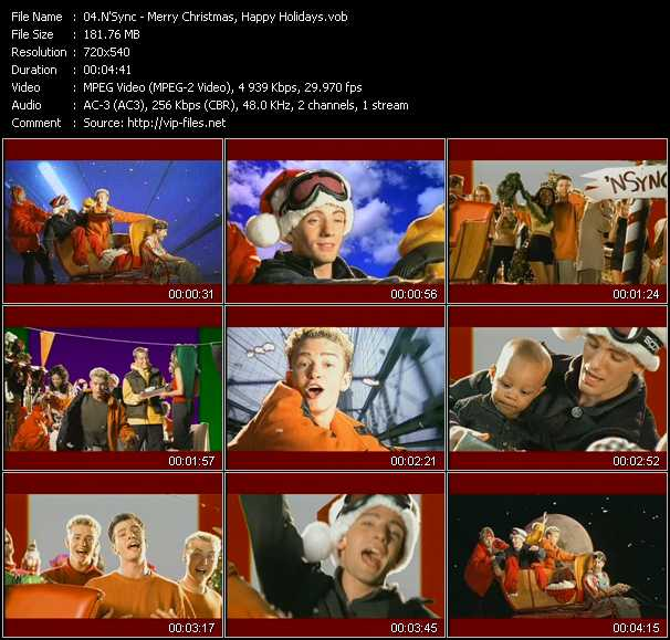 N'Sync - Merry Christmas, Happy Holidays