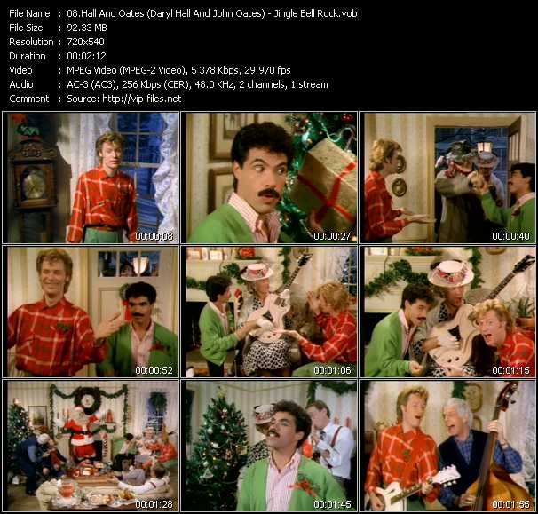 Hall And Oates (Daryl Hall And John Oates) - Jingle Bell Rock
