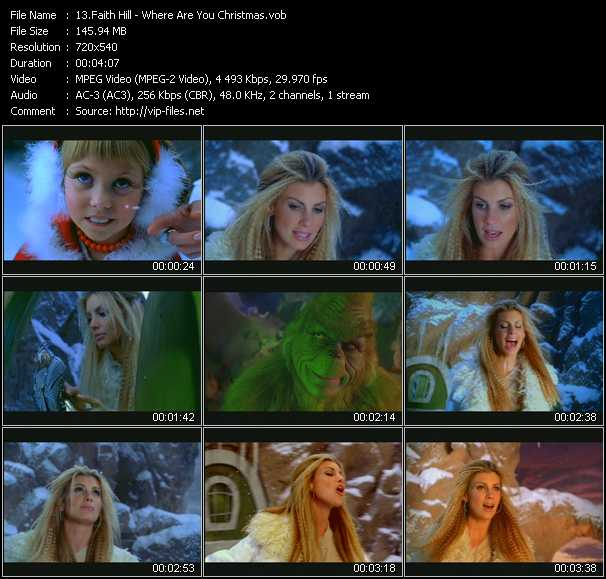 Faith Hill - Where Are You Christmas?