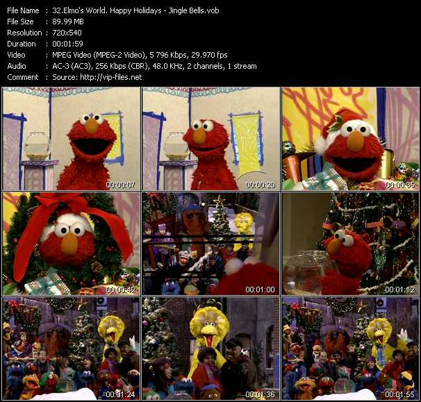 Elmo's World. Happy Holidays - Jingle Bells