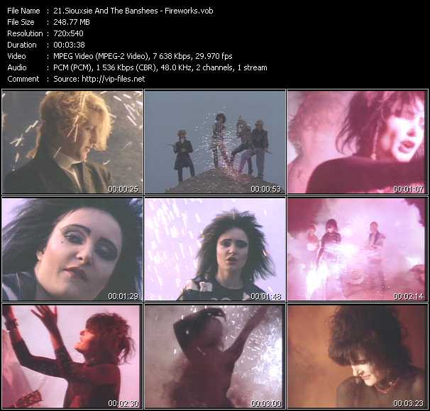 Siouxsie And The Banshees - Fireworks