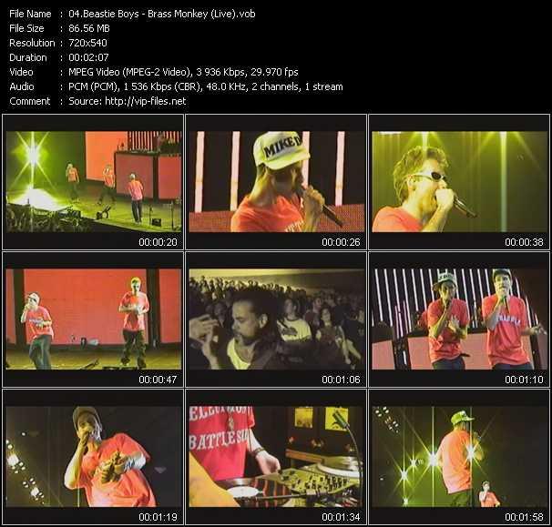 Beastie Boys - Brass Monkey (Live)