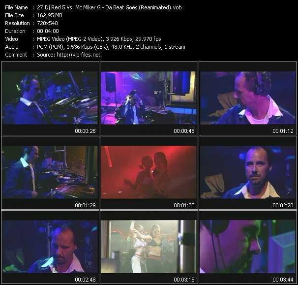 Dj Red 5 Vs. Mc Miker G - Da Beat Goes (Reanimated)