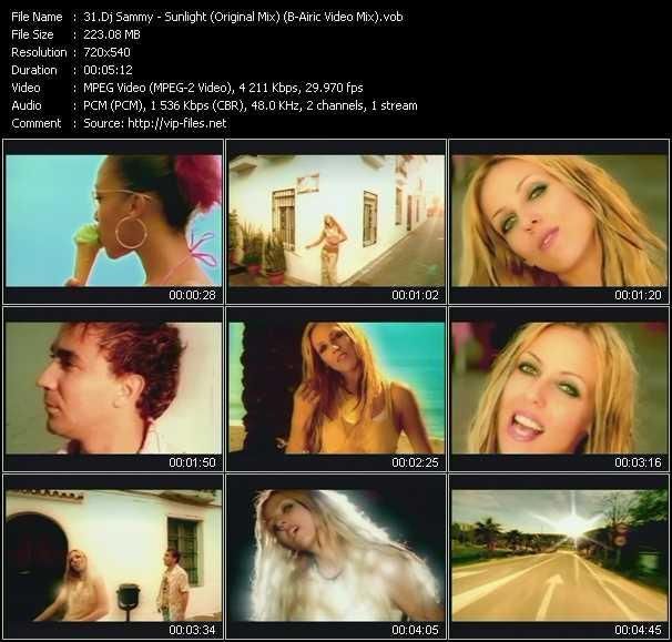 Dj Sammy Feat. Loona - Sunlight (Original Mix) (B-Airic Video Mix)