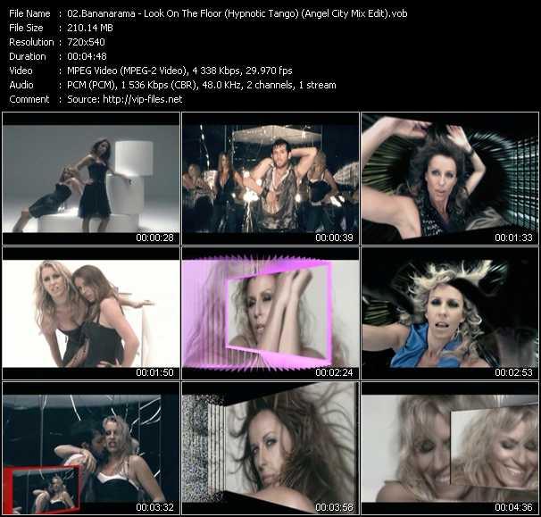 Bananarama - Look On The Floor (Hypnotic Tango) (Angel City Mix Edit) (ISV Video Mix By Grant Smith)