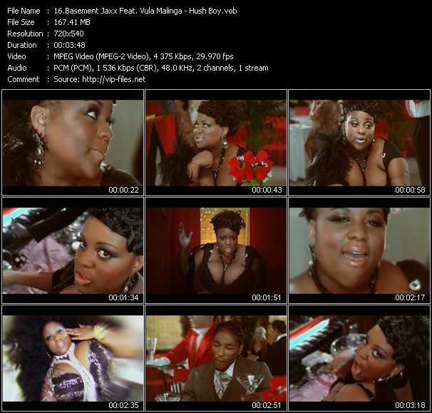 Basement Jaxx Feat. Vula Malinga - Hush Boy