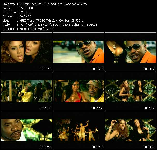 Obie Trice Feat. Brick And Lace - Jamaican Girl