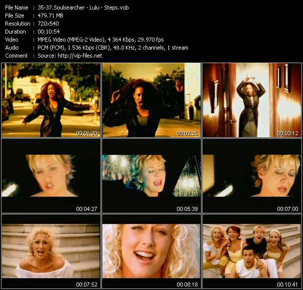 Soulsearcher - Lulu - Steps - Can't Get Enough (Remix) - Hurt Me So Bad (Almighty Mix) - Love's Gotta Hold