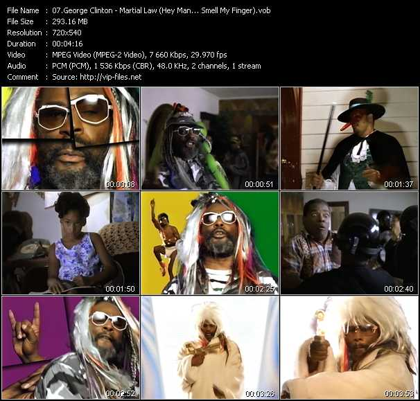 George Clinton - Martial Law (Hey Man... Smell My Finger)