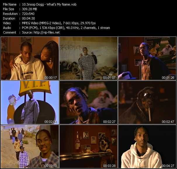 Snoop Dogg - What's My Name?