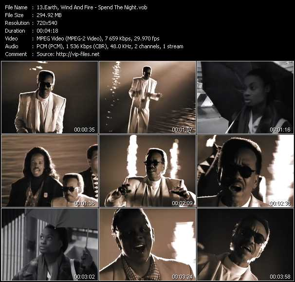 Earth, Wind And Fire - Spend The Night