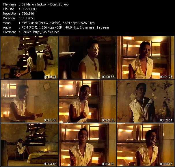Marlon Jackson - Don't Go