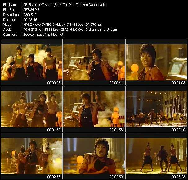 Shanice (Shanice Wilson) - (Baby Tell Me) Can You Dance