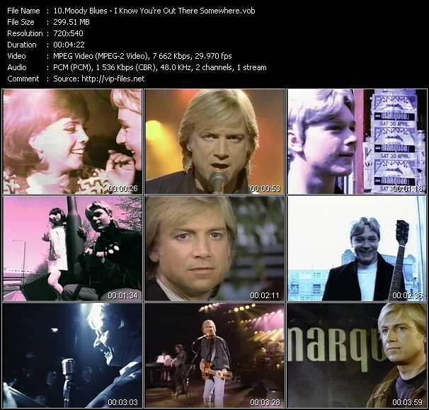 Moody Blues - I Know You're Out There Somewhere