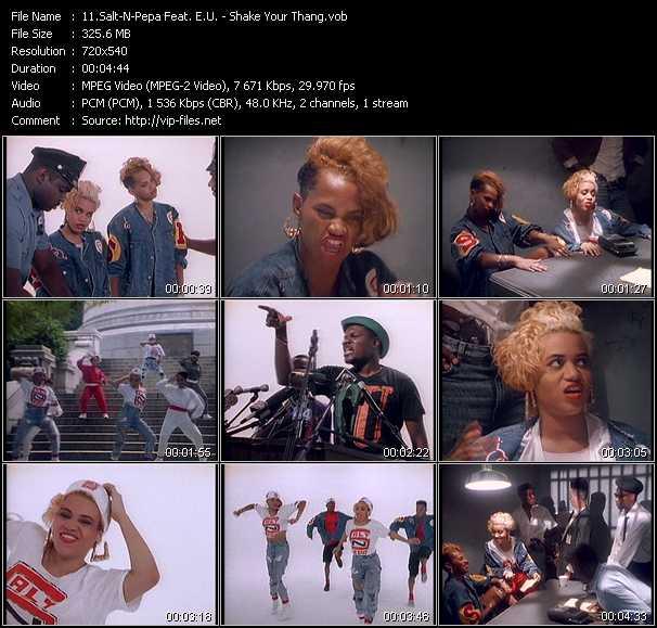 Salt-N-Pepa Feat. E.U. - Shake Your Thang (It's Your Thing)
