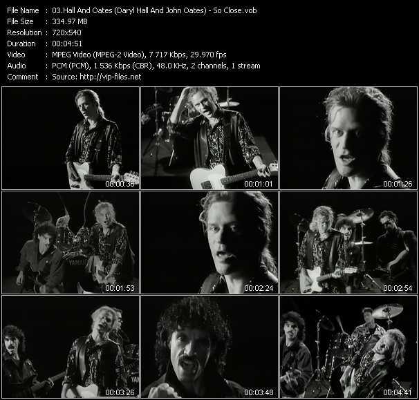 Hall And Oates (Daryl Hall And John Oates) - So Close