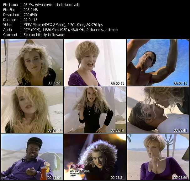 Ms. Adventures Feat. Doug Lazy - Undeniable