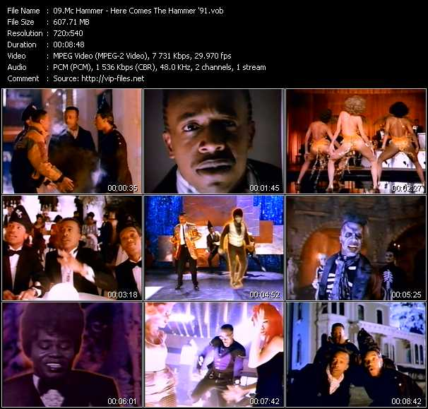 Mc Hammer - Here Comes The Hammer '91
