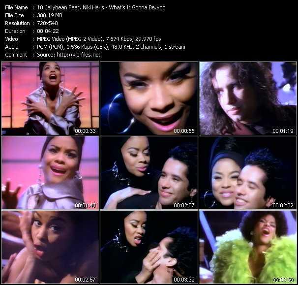 Jellybean Feat. Niki Haris - What's It Gonna Be