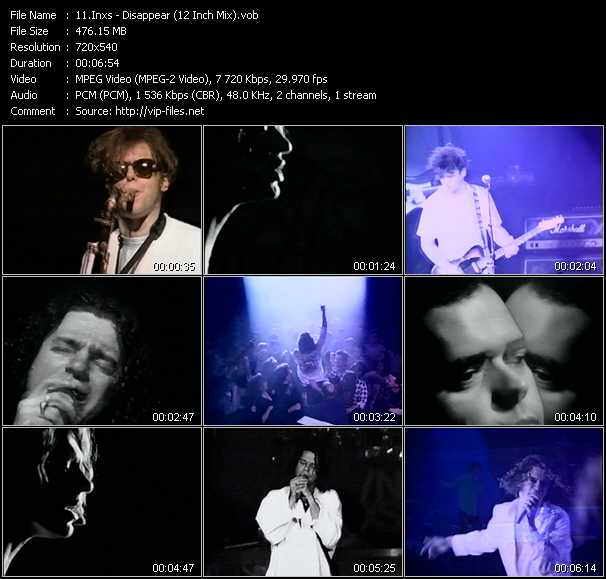 Inxs - Disappear (12 Inch Mix)
