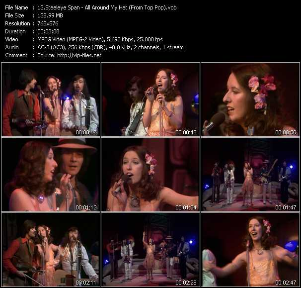 Steeleye Span - All Around My Hat (From Top Pop)