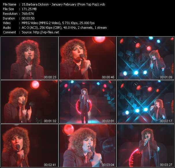 Barbara Dickson - January February (From Top Pop)