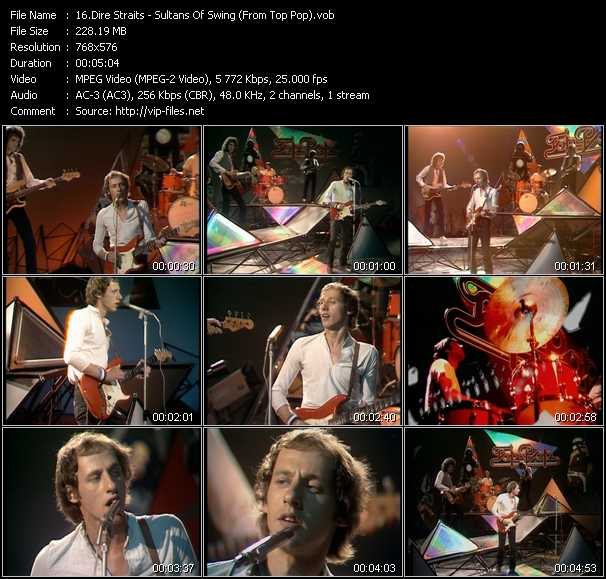 Dire Straits - Sultans Of Swing (From Top Pop)