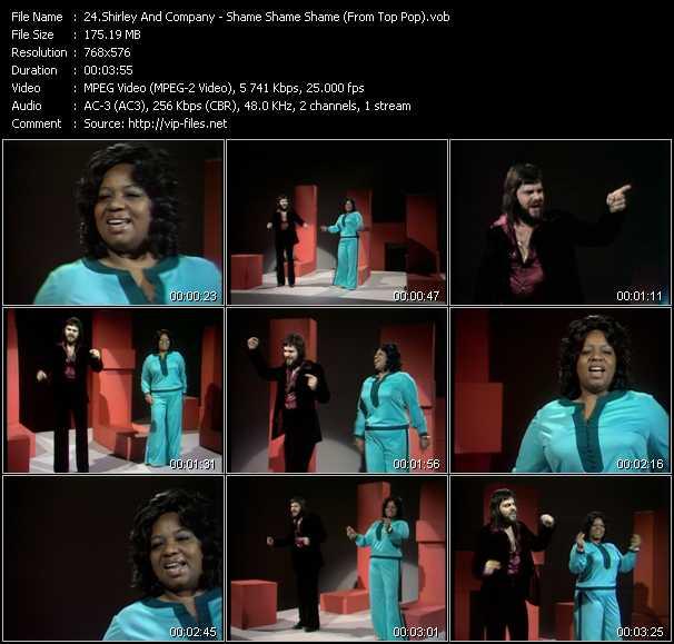 Shirley And Company - Shame Shame Shame (From Top Pop)
