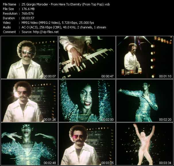 Giorgio Moroder - From Here To Eternity (From Top Pop)