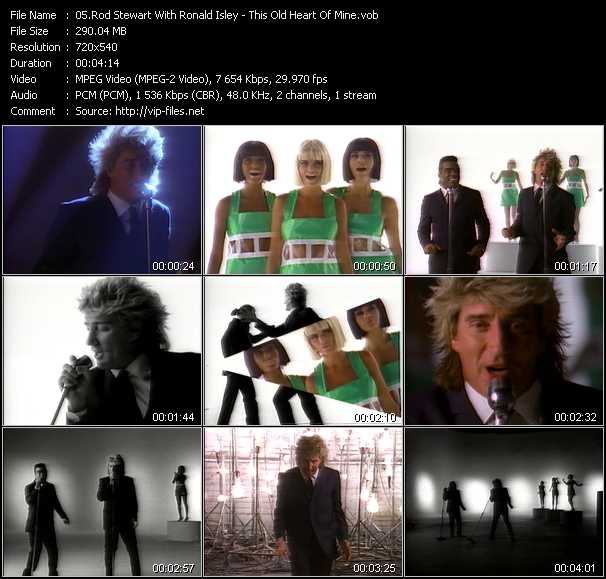 Rod Stewart With Ronald Isley - This Old Heart Of Mine