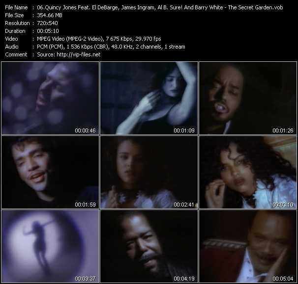 Quincy Jones Feat. El DeBarge, James Ingram, Al B. Sure! And Barry White - The Secret Garden (Sweet Seduction Suite)