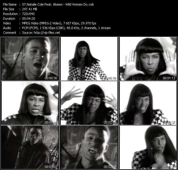 Natalie Cole Feat. Akeem - Wild Women Do