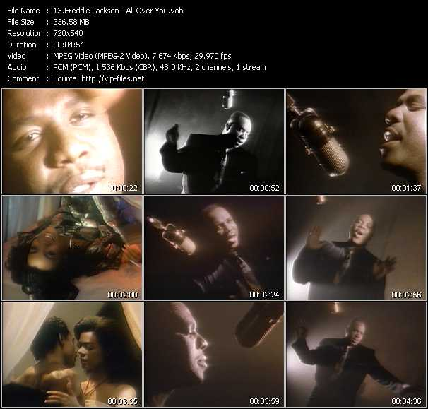 Freddie Jackson - All Over You