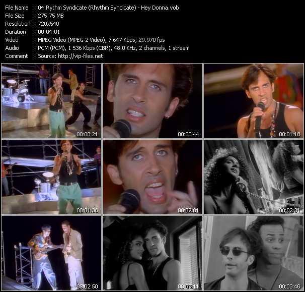 Rythm Syndicate (Rhythm Syndicate) - Hey Donna